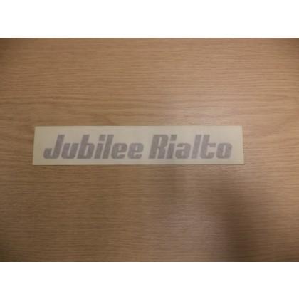 RELIANT RIALTO JUBILEE DECAL 30938