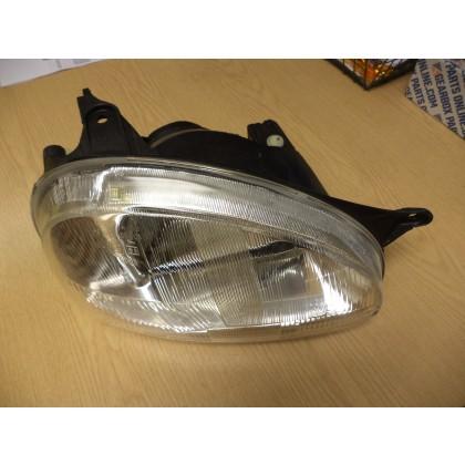 Reliant Robin MK3 Teardrop Model Headlamp R/H Drivers side 32653 MANUAL ADJUST