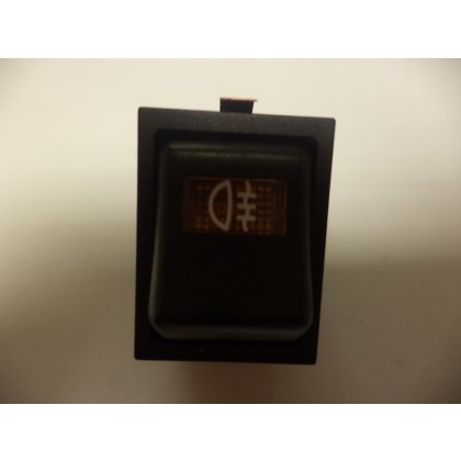 RELIANT ROBIN REAR FOG LAMP SWITCH SQUARE TYPE 31990