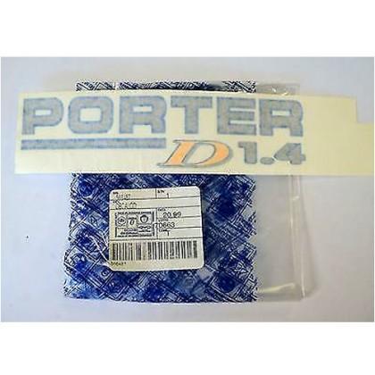 Piaggio Porter D 1.4 Sticker / Decal - 566487