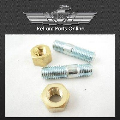 Reliant Bond Bug Exhaust Downpipe Flange Studs & Nut Kit