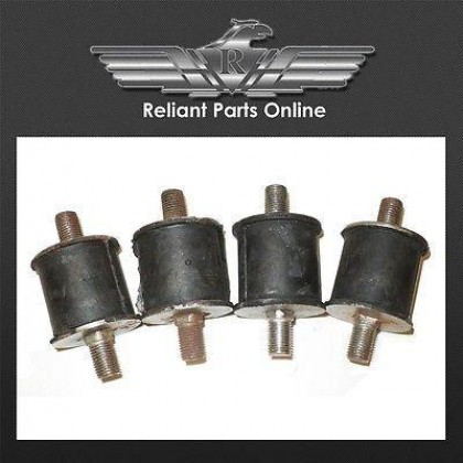 Reliant Robin Engine Mounts Set x 4 - 21751