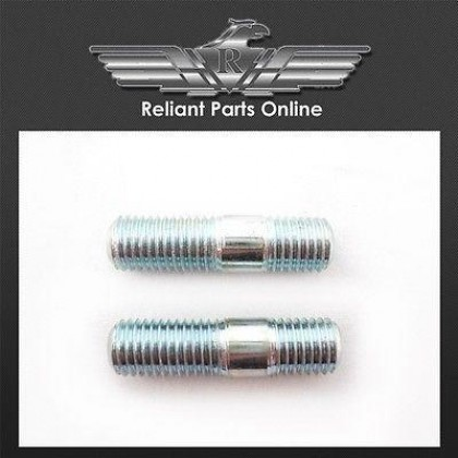 Reliant Robin Kitten Rialto Fox Exhaust Downpipe Flange Studs - 6499