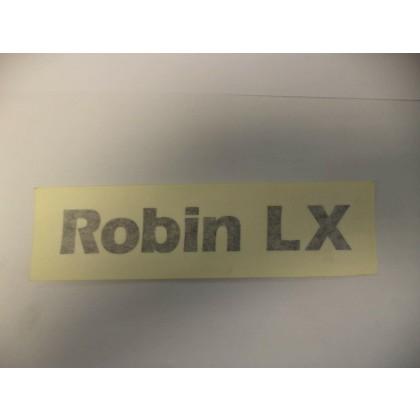 Reliant Robin LX Badge decal  black Colour 31791