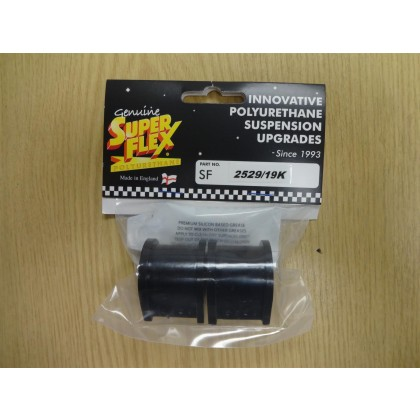 SUPERFLEX KITTEN ANTI ROLL BAR BUSHES 19MM DIAMETER