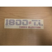 RELIANT SCIMITAR SS1 1.8TI REAR DECAL 222411