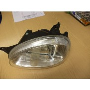 Reliant Robin MK3 Headlamp L/H PASSENGER side 32652 MANUAL ADJUST